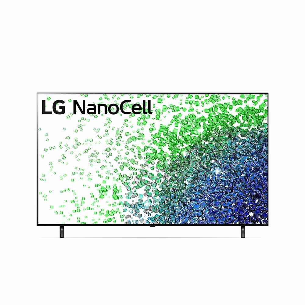LG 65 inch NANO80 NanoCell 4K Smart TV with AI ThinQ® (2021) LG-65NANO80TPA
