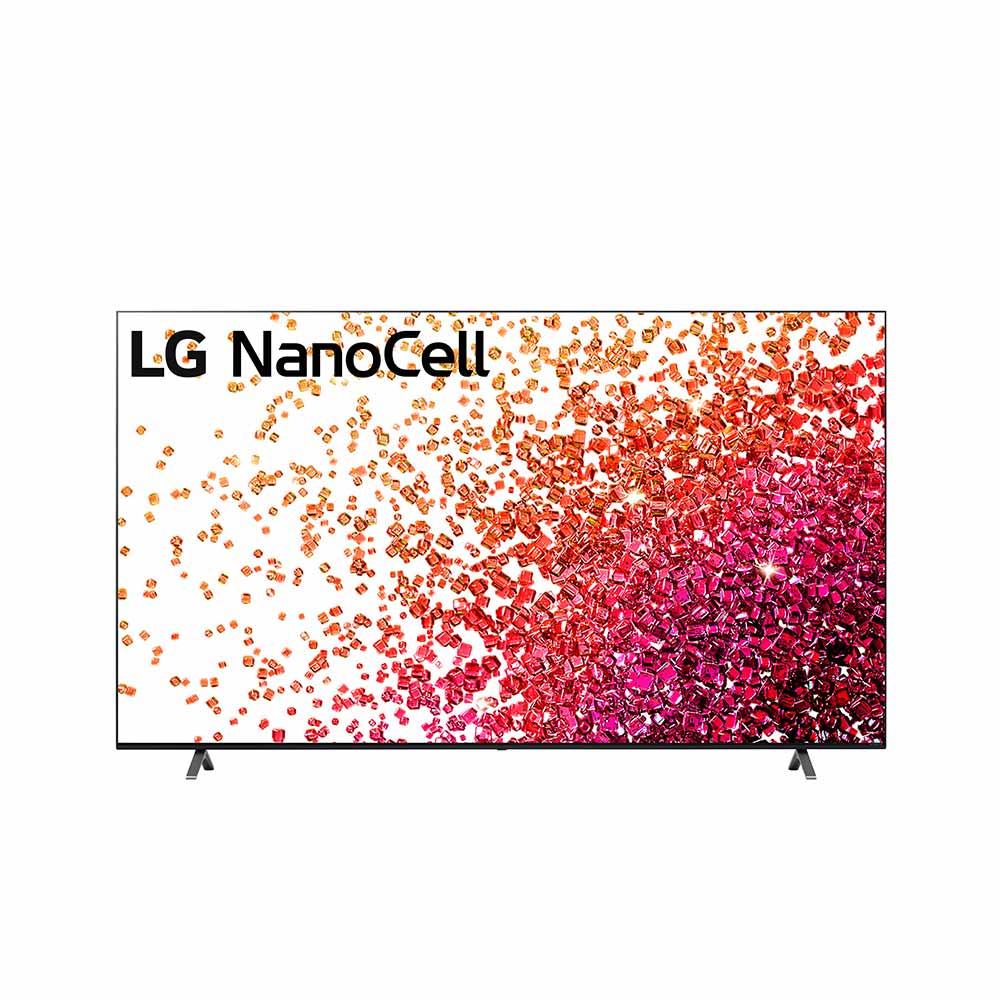 LG 75 inch NANO75 NanoCell 4K Smart TV with AI ThinQ® (2021) LG-75NANO75TPA