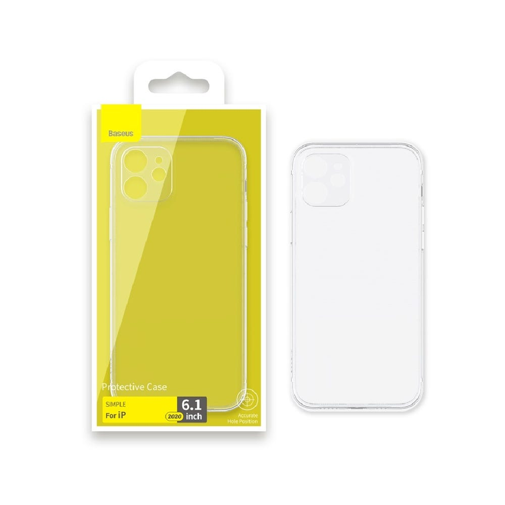 Baseus Clear Case for iPhone 12 (NEW)