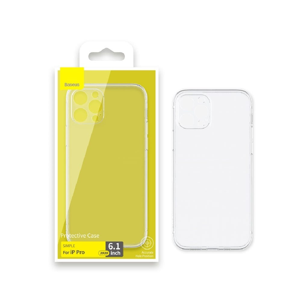 Baseus Clear Case for iPhone 12 Pro (NEW)