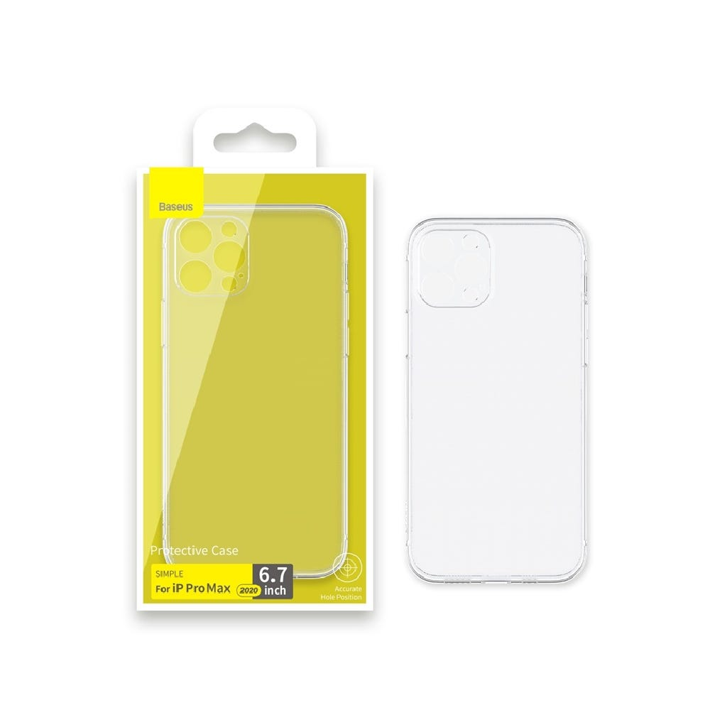 Baseus Clear Case for iPhone 12 Pro Max (NEW)