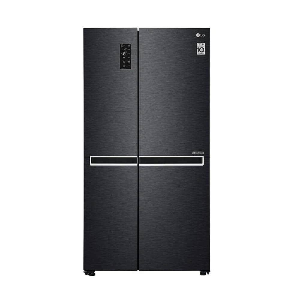 LG 626L Net French Door Refrigerator with Multi Air Flow & Inverter Linear Compressor LG-GCB247SQUV
