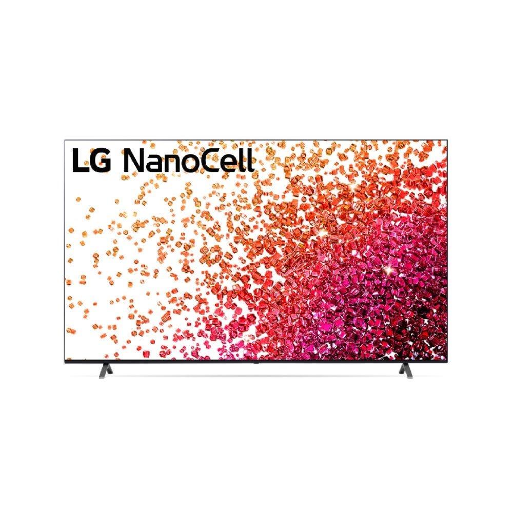 LG 43 inch NANO75 NanoCell 4K Smart TV with AI ThinQ® (2021) LG-43NANO75TPA