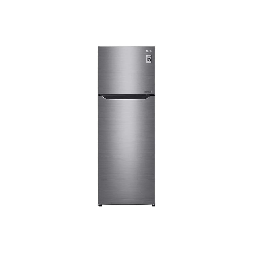 LG Nett 312L Top Freezer with Multi Air Flow & Smart Inverter Compressor, Dark Graphite Steel GNG372SLCB