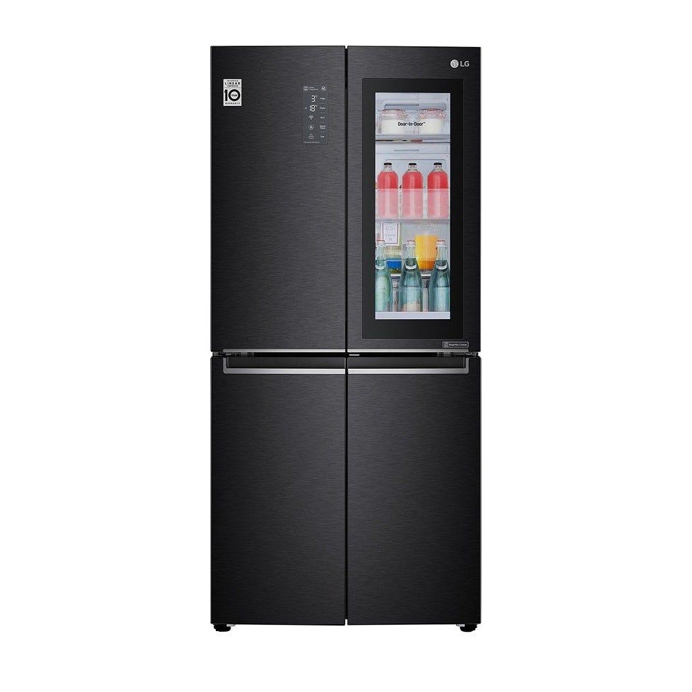 LG 458L Net Slim French Door Refrigerator with InstaView Door-in-Door, DoorCooling+ & Hygiene FRESH LG-GCQ22FTQKL