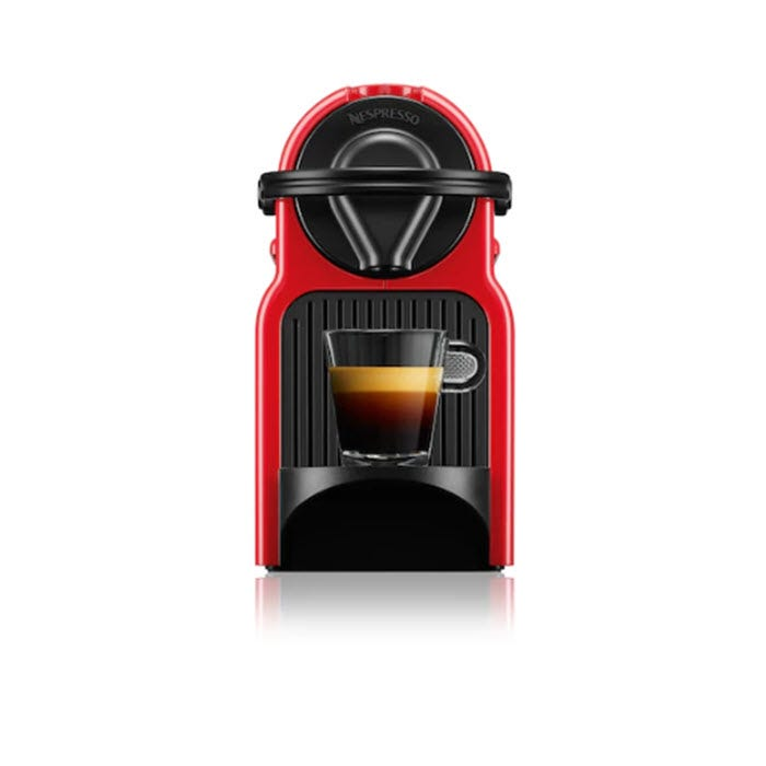 Nespresso Inissia Ruby Red Espresso Maker C40MERE