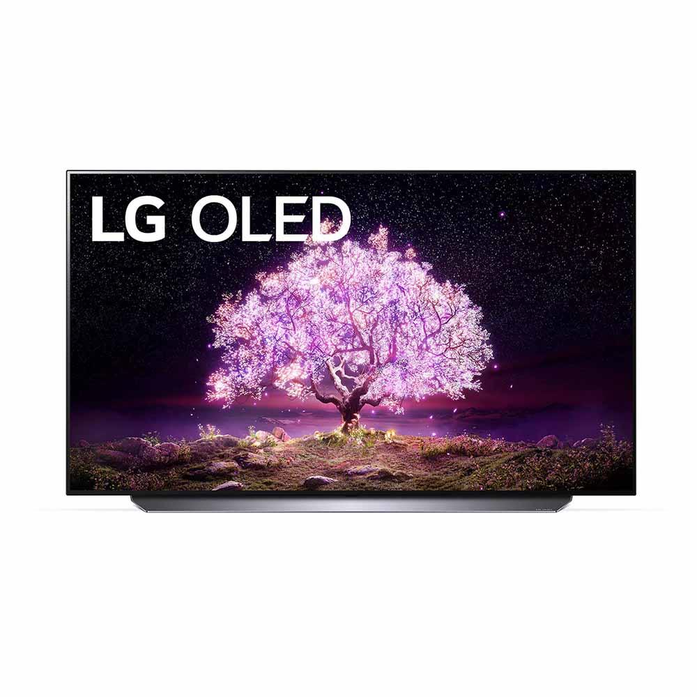 LG 48 inch C1 4K Smart SELF-LIT OLED TV with AI ThinQ® (2021) LG-OLED48C1PTB