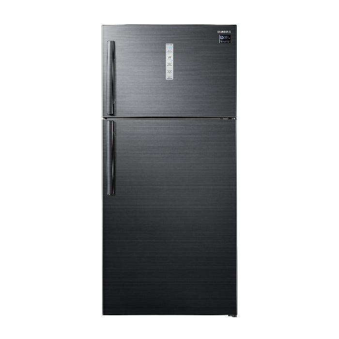 Samsung 710L 2 Door Refrigerator Top Mount Freezer with Twin Cooling Plus RT62K7005BS