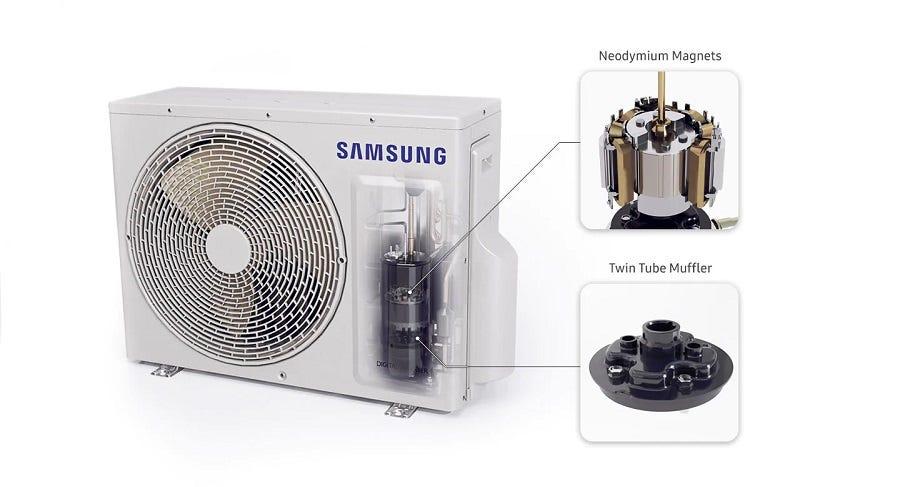 Samsung 1.5HP S-Inverter Premium Air Cond SAM-AR13TYHY