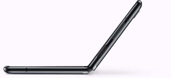Flip design of the Samsung Galaxy Z Flip