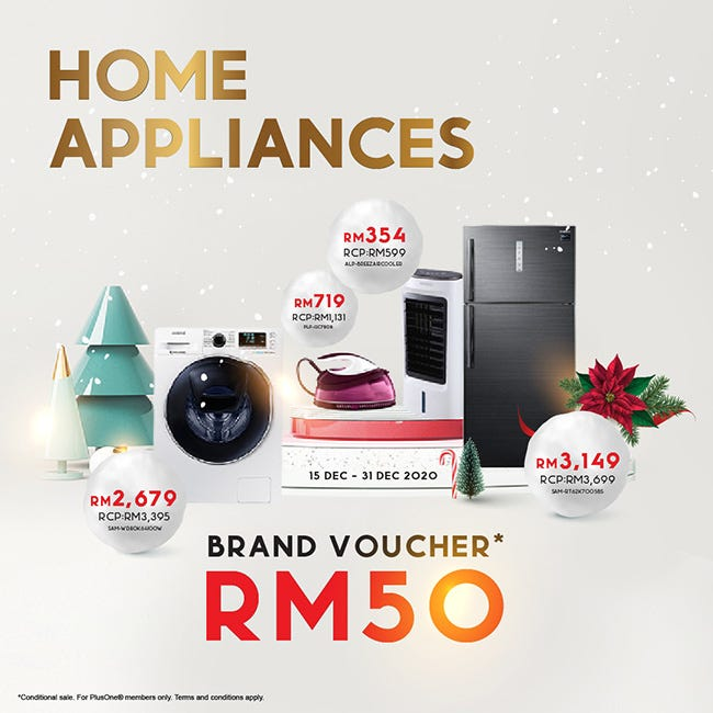 Brand Vouchers up to RM50
