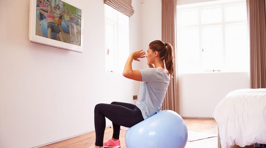 Indoor exercising