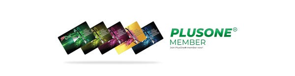 PlusOne members benefits and why should you buy from us!