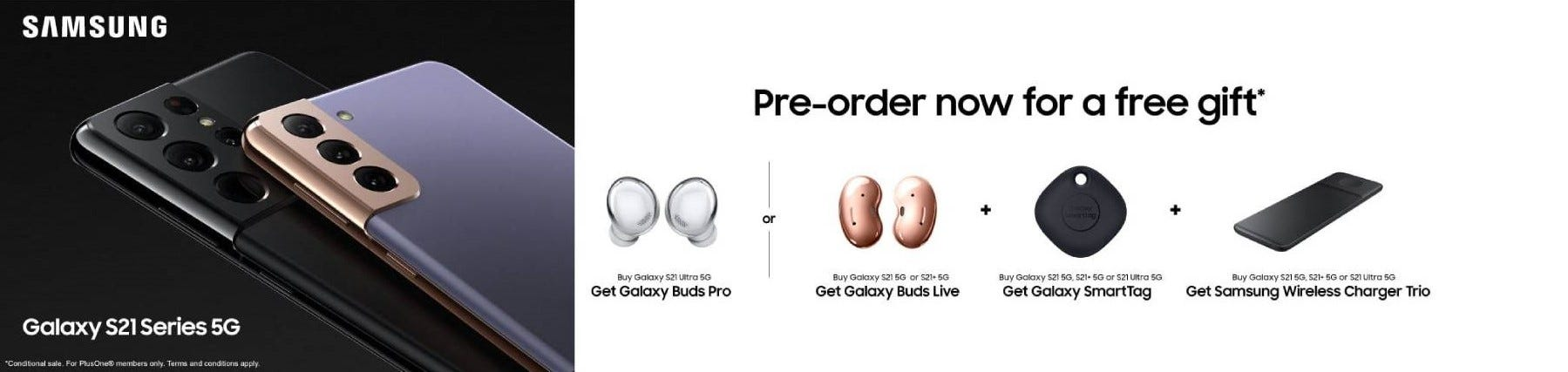 The Samsung Galaxy S21 Pre-Order
