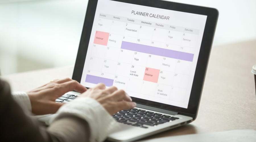 Make a timetable
