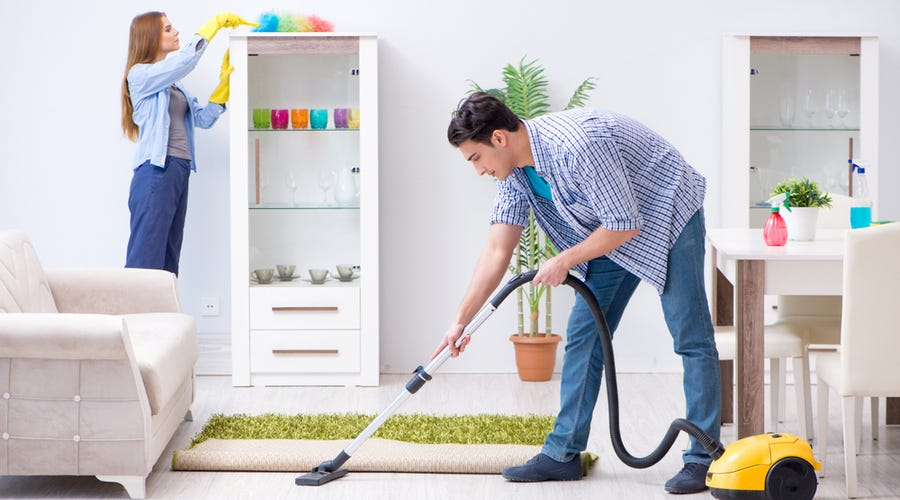 Do a 'pre-cleaning' before CNY starts