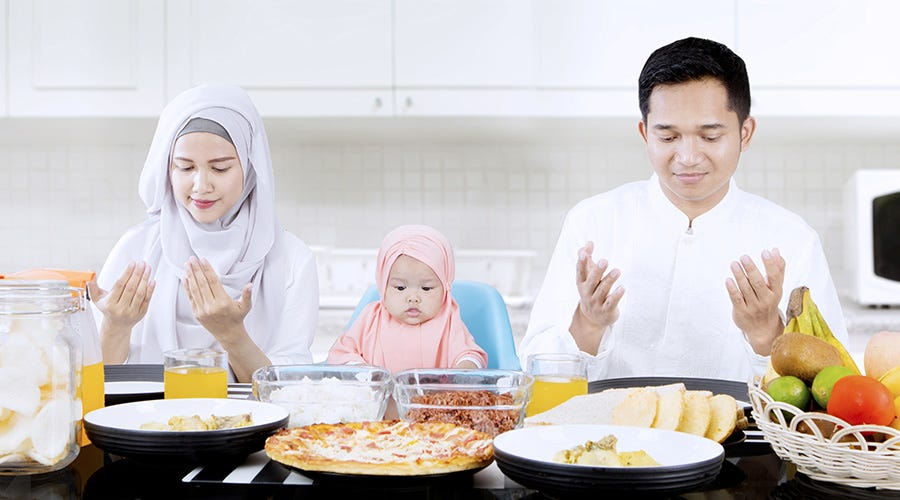 Surprise them by waking up early and prepare sahur