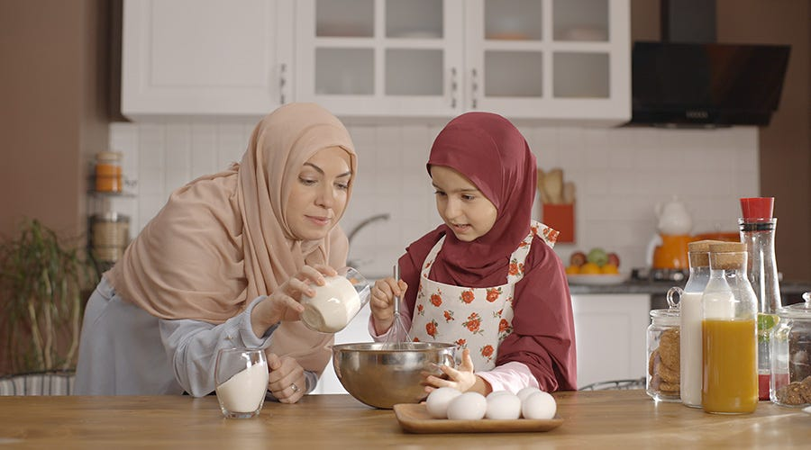 Plan meals for sahur and iftar
