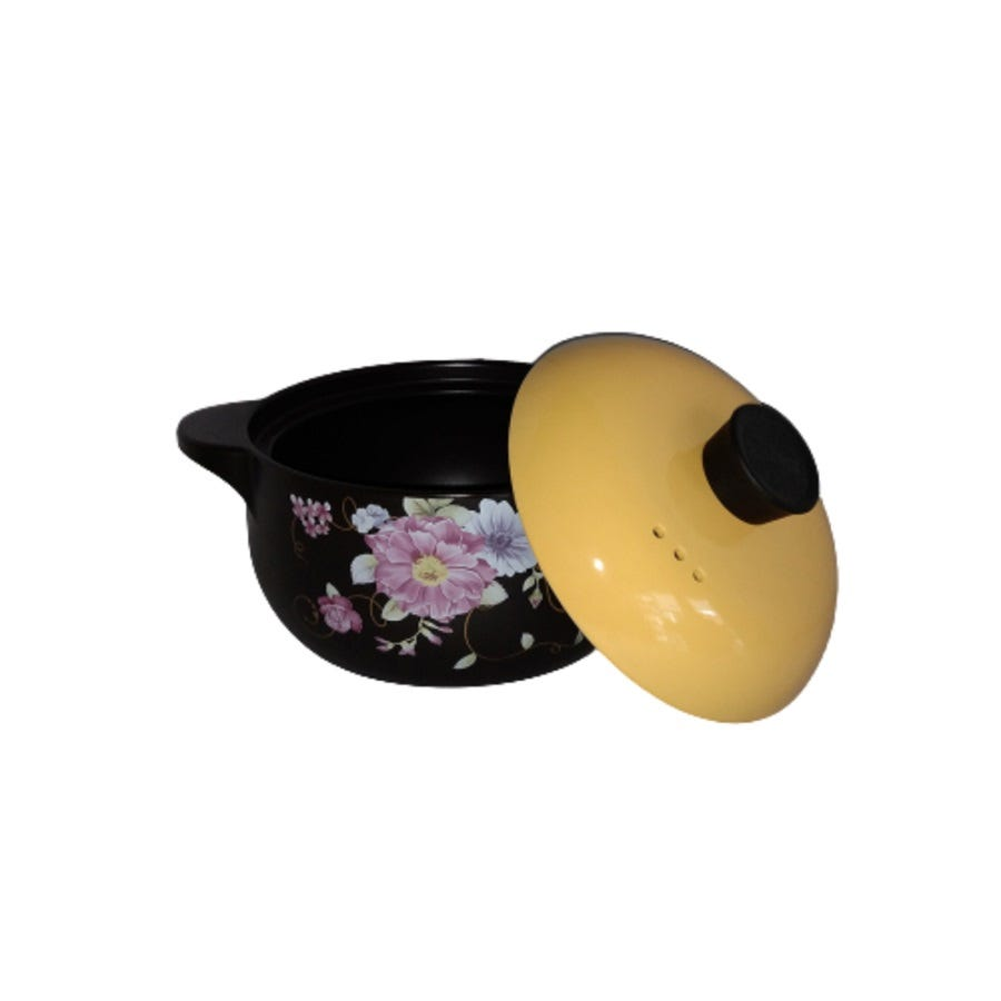 Color King 3200ML 100% Ceramic Pot ShangChu Series Yellow CLK-32333200_Y_1