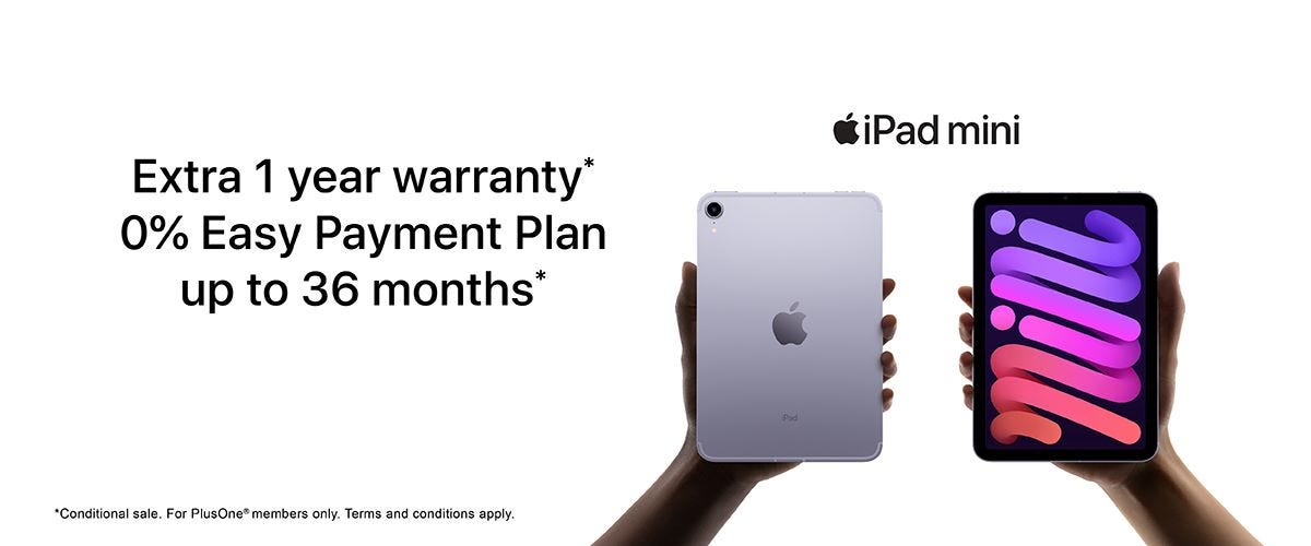 iPad mini 6th gen Banner