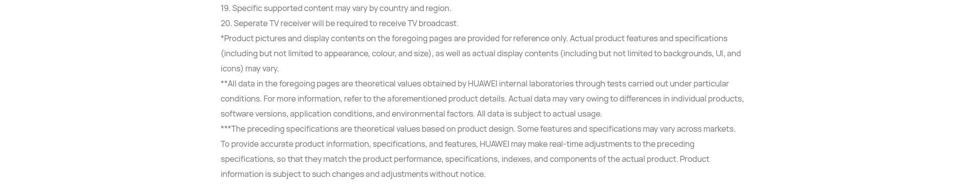 Huawei TV 41