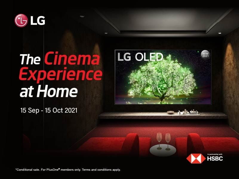 LG Cinema Experience at Home
