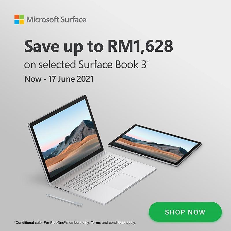 Microsoft Surface Book 3 Banner