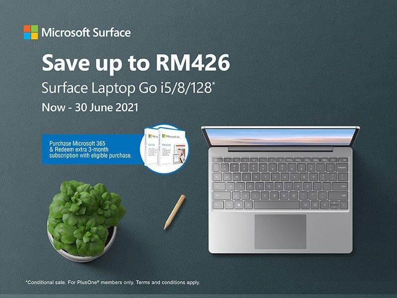 Microsoft Laptop Go Banner