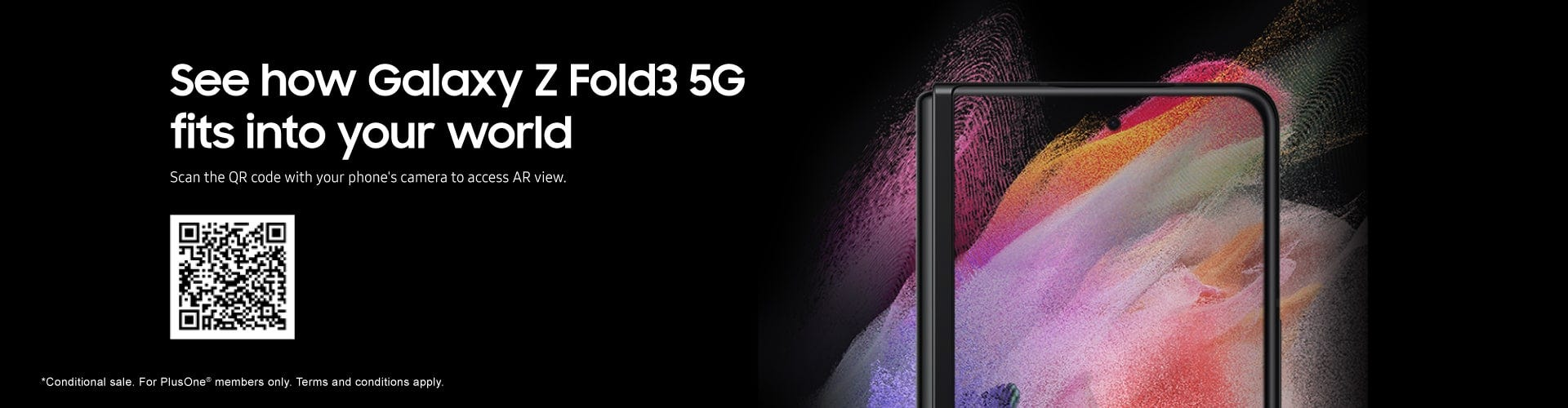 See how Galaxy Z Fold3 5G fits into your world