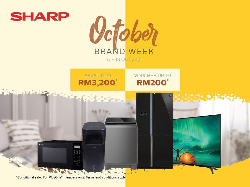 Sharp October Brand Week