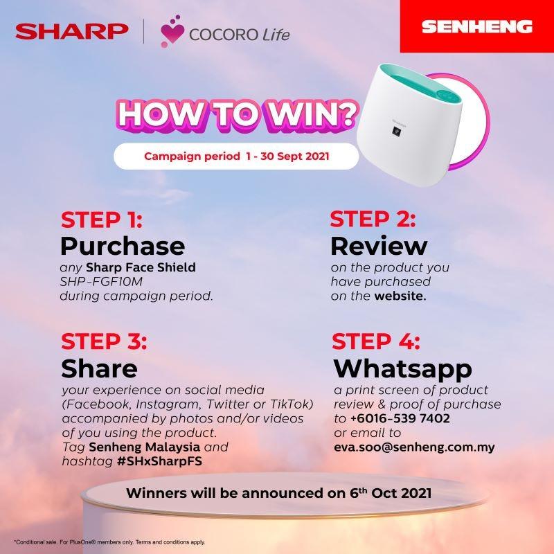Sharp FB Steps