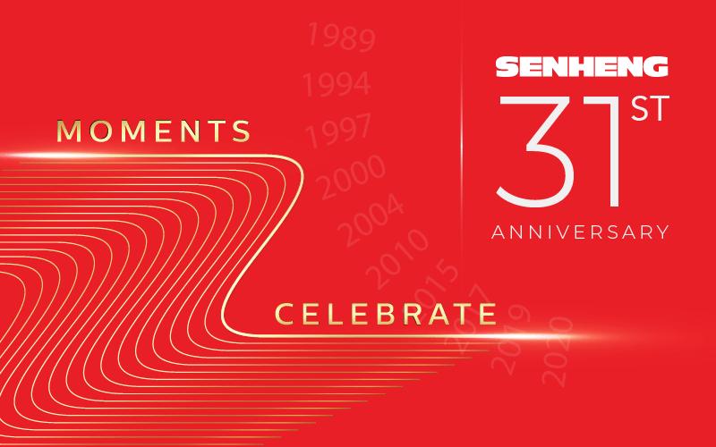31st anniversary senheng
