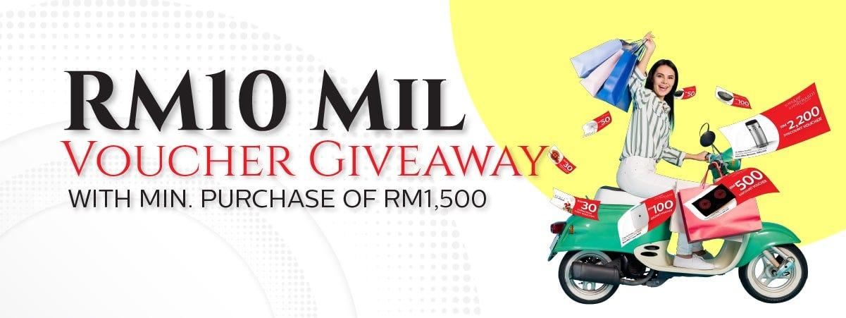 RM10mil voucher giveaway