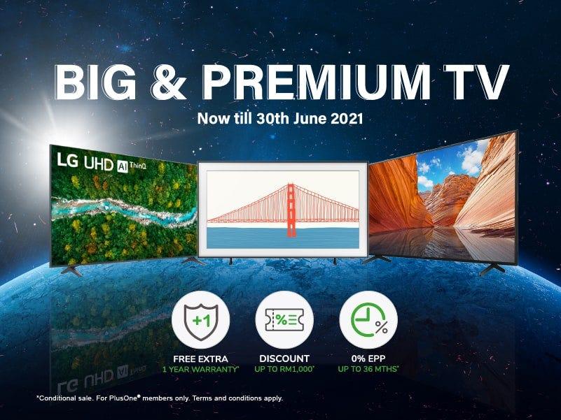 Big and Premium TV