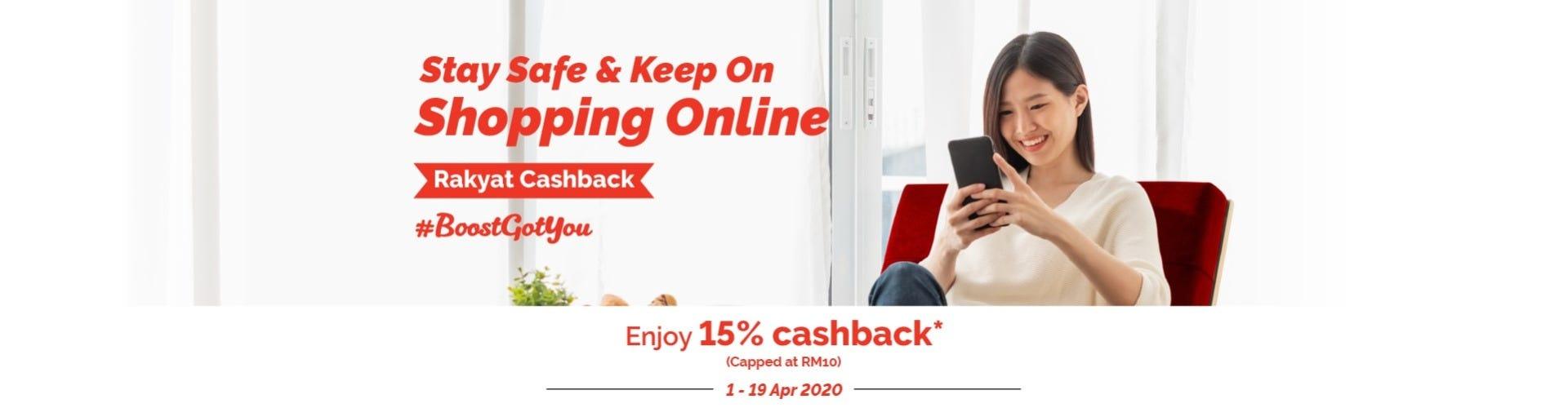 Boost Cashback Desktop