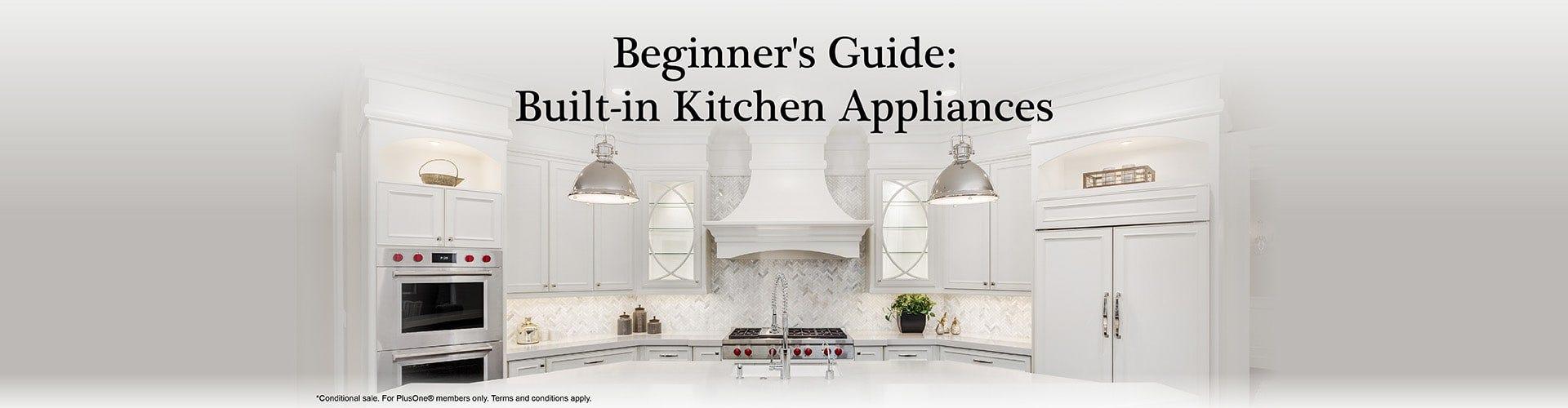Built-in Kitchen Appliances Main Banner