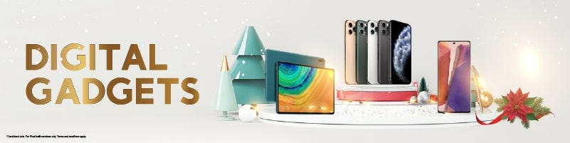 Christmas Digital Gadgets