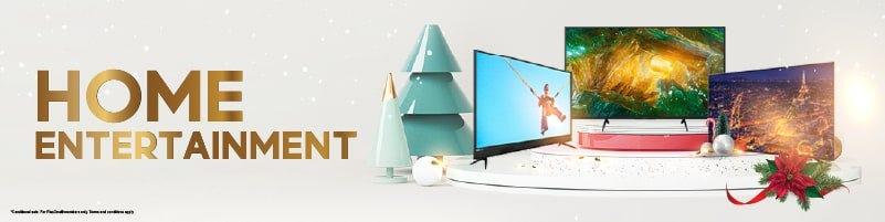 Christmas Home Entertainment