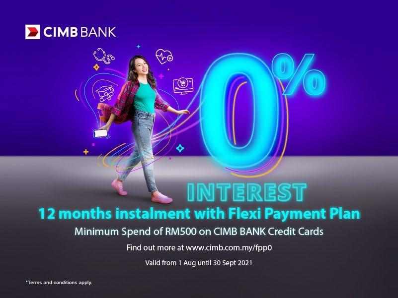CIMB Bank 0% Interest