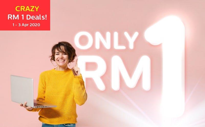 RM1 Crazy Sales