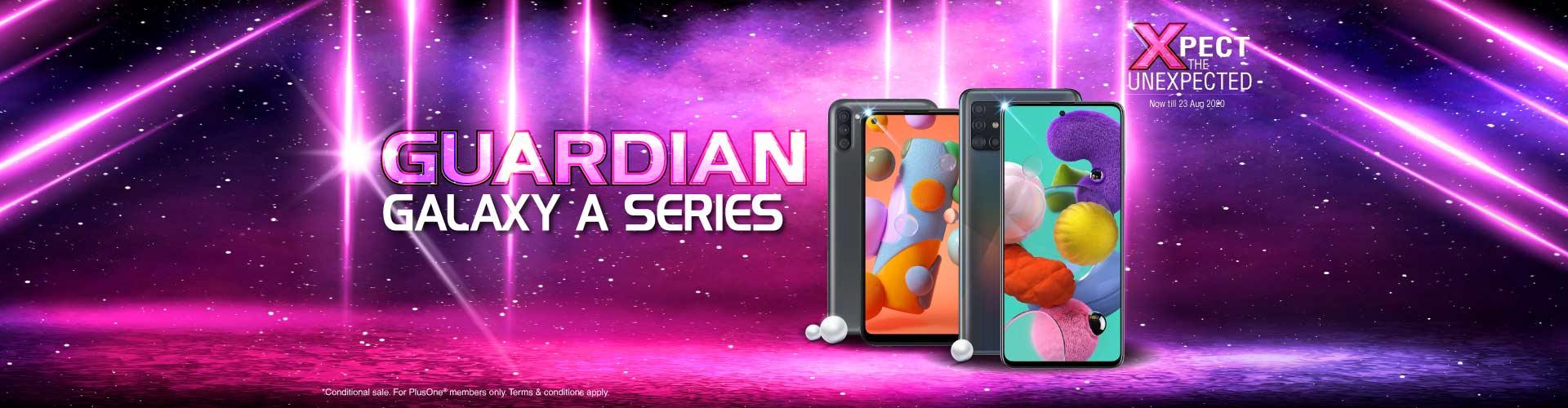 Guardian Galaxy A Series Desktop Banner