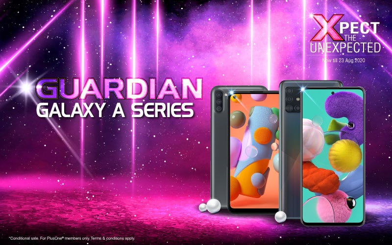 Guardian Galaxy A Series Mobile Banner