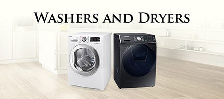 Category 3 Washers and Dryers