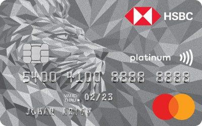 HSBC Platinum Mastercard Credit Card
