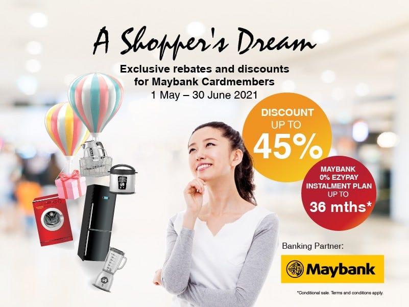 Maybank Shoppers Dream