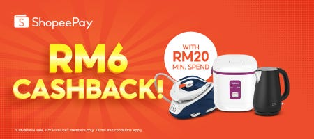 Shopee Pay | RM6 Cashback