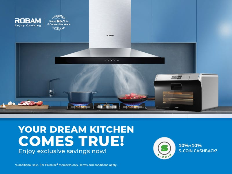 Robam Your Dream Kitchen Comes True