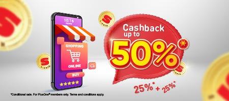 SCoin 50% Cashback