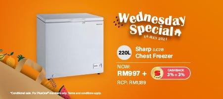 SHARP Chest Freezer