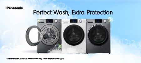 Panasonic Perfect Wash, Extra Protection